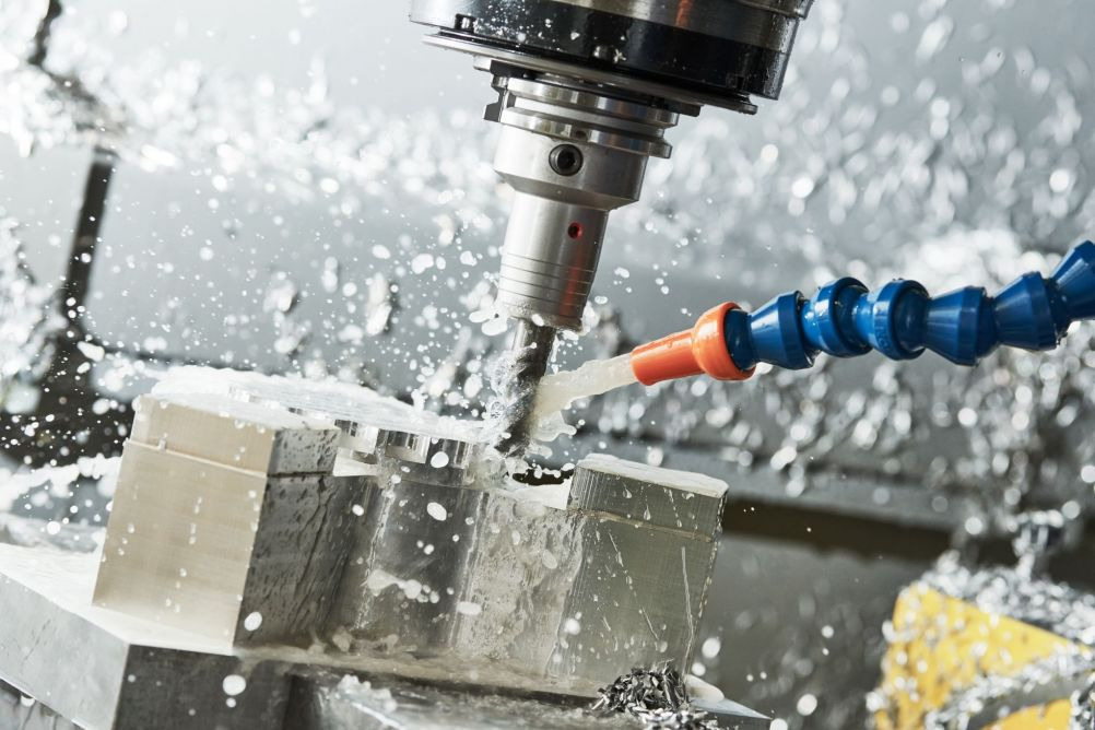 CNC Milling Action